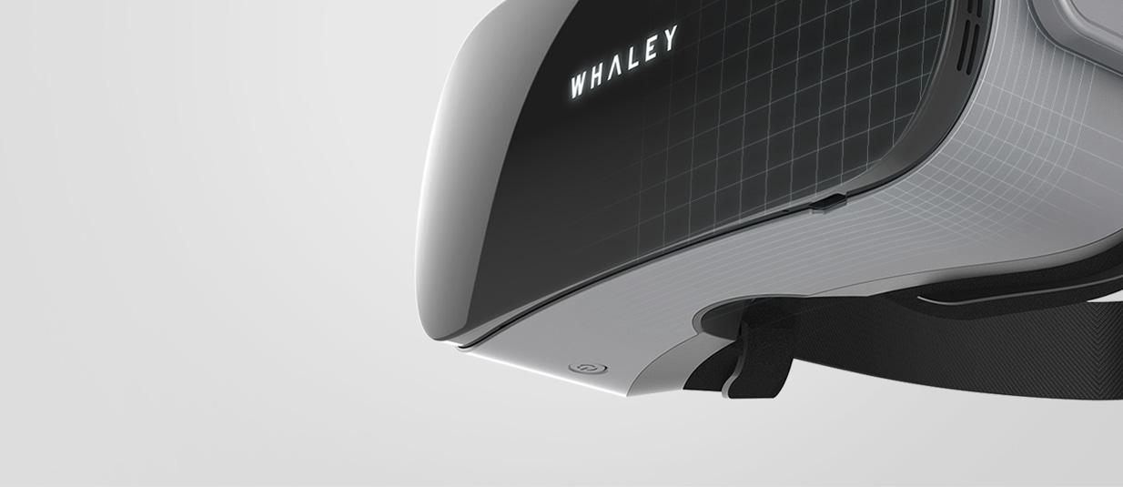 微鲸VR一体机X1,工业设计